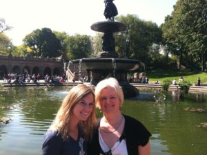Rattray Jane - Jessica and Jane in Central Park