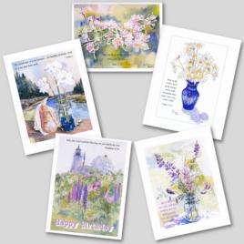 Flower Card Pack #1