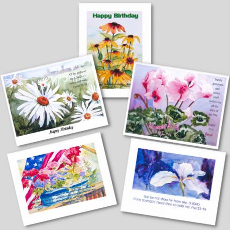 Flower Card Pack #2