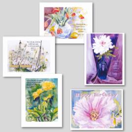 Flower Card Pack #3