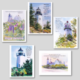 Lighthouse Card Pack #1