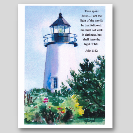 Lighthouse Card Pack #1 (4)