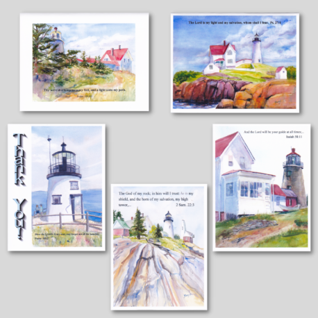 Lighthouse Card Pack #2