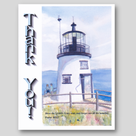 Lighthouse Card Pack #2 (5)